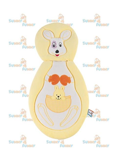 Sunny Funny Kanguru Sarı Altaçma Minderi Sarı